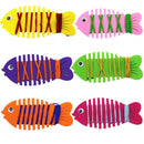 Random Color Baby Kids Learning Toys Cartoon Fish Patience Thinking Hand Coordination Trainer String Line Around Fish--JadeMoghul Inc.