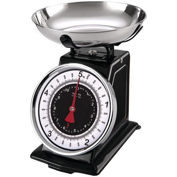 Retro Mechanical Kitchen Scale-Small Appliances & Accessories-JadeMoghul Inc.