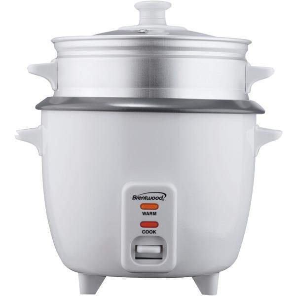 Rice Cooker with Food Steamer (5 Cups, 400 Watts)-Small Appliances & Accessories-JadeMoghul Inc.