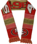 San Francisco 49Ers Reversible Split Logo Scarf-Scarves-JadeMoghul Inc.