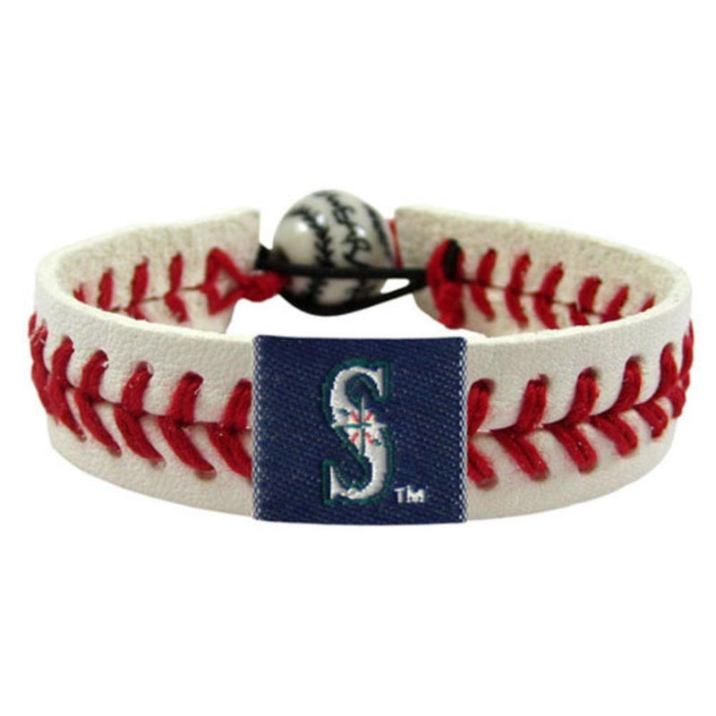Seattle Mariners Classic Baseball Bracelet-Gamewear-JadeMoghul Inc.