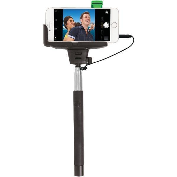 Selfie Stick with Wired Shutter-Cellphone Mounts-JadeMoghul Inc.