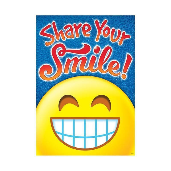 SHARE YOUR SMILE ARGUS POSTER-Learning Materials-JadeMoghul Inc.