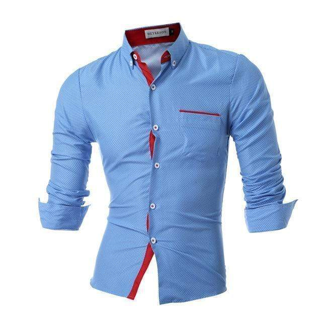 Slim Fit Long Sleeve Smart Shirt AExp