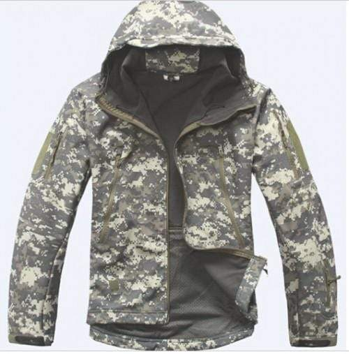Soft Shell Tactical Military Jacket For Men AExp