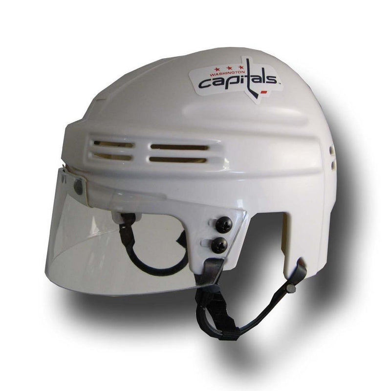 Sporting Goods Official NHL Licensed Mini Player Helmets - Washington Capitals (White) SportStar Athletics