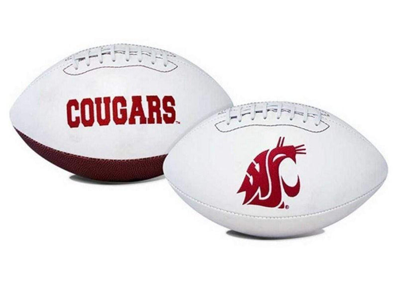 Sporting Goods The Licensed Products NCAA Full Size Signature Series Football Washington State Cougars The Licensed Products Company