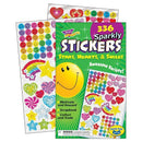 STICKER PAD SPARKLY STARS HEARTS &-Learning Materials-JadeMoghul Inc.
