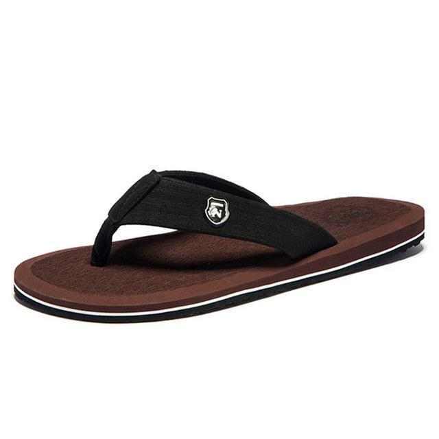 Summer Fashion Beach Sandals for Men / Flat Flip Flops-Brown-14-JadeMoghul Inc.