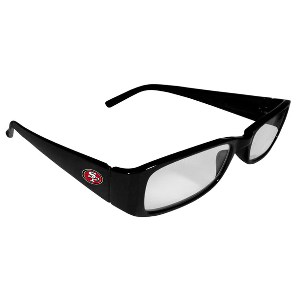 Sunglasses, Eyewear & Accessories NFL San Francisco 49ers Printed Reading Glasses, +1.25 JM Sports-7