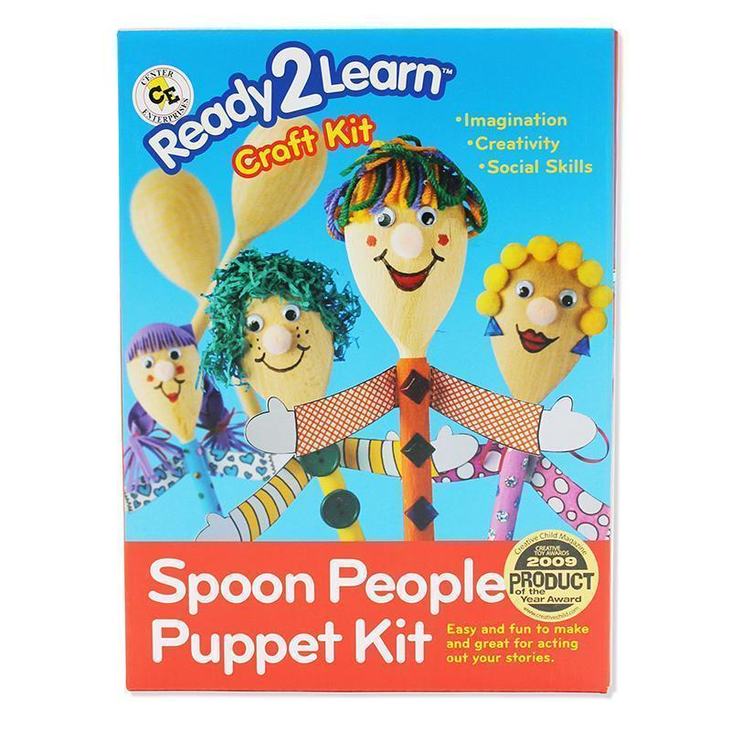 Supplies Ready2 Learn Craft Kit Spoon People CENTER ENTERPRISES INC.