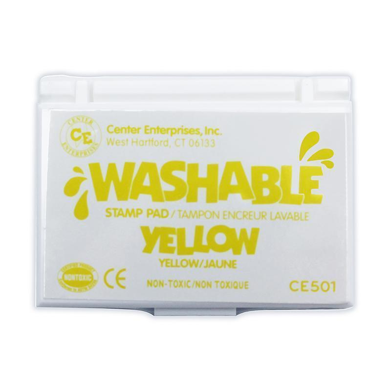 Supplies Stamp Pad Washable Yellow CENTER ENTERPRISES INC.