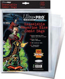 Supplies Ultra Pro Resealable Magazine Size Comic Bags Ultra Pro International