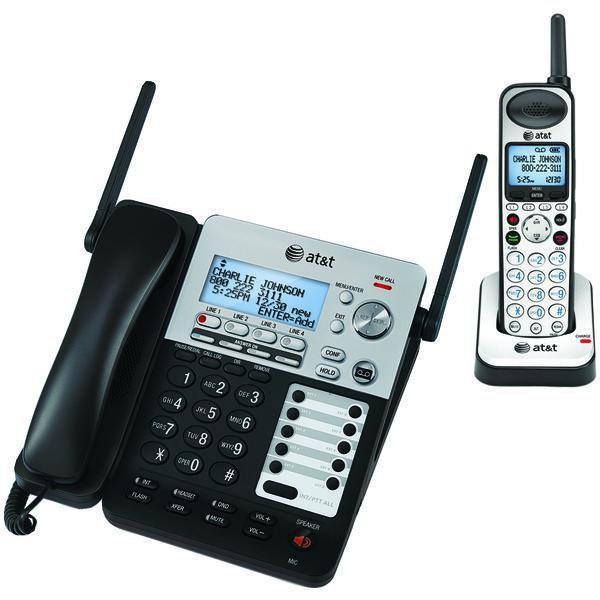 SynJ(R) 4-Line Expandable Business Phone System-Corded Phones-JadeMoghul Inc.