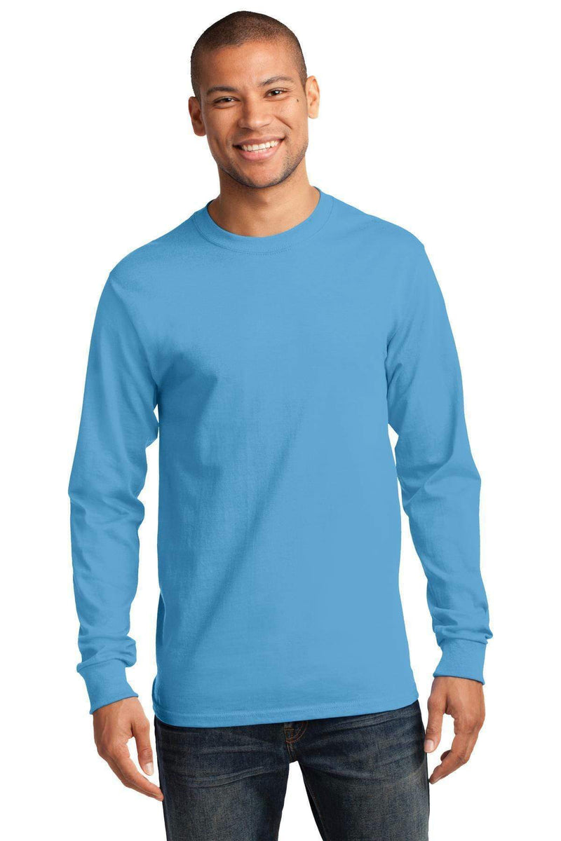 T-shirts Port & Company - Tall Long Sleeve Essential Tee. PC61LST Port & Company