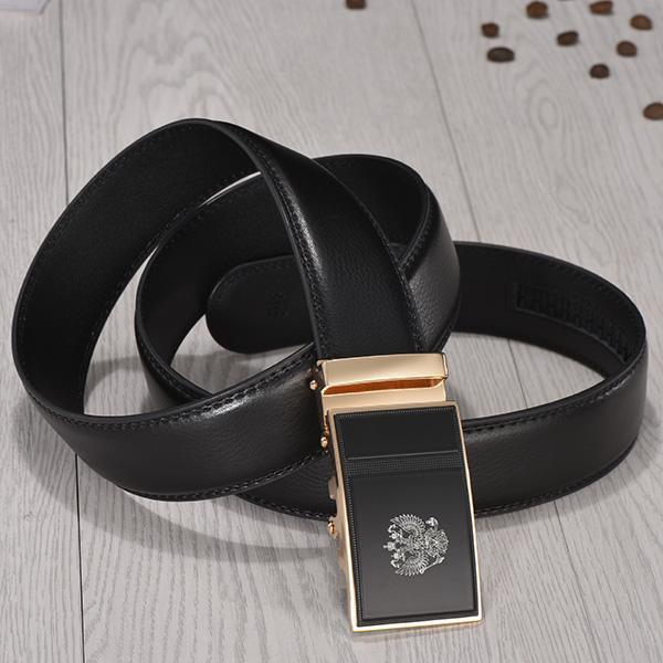 Top Quality Genuine Luxury Leather Belt-zdkghj-100cm 27to29 Incn-JadeMoghul Inc.