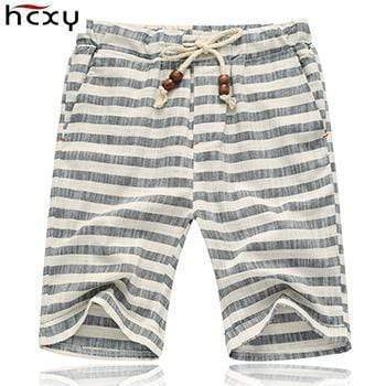 top quality Summer style shorts men 2016 cotton Mens shorts five casual shorts tide male cotton beach linen shorts AExp