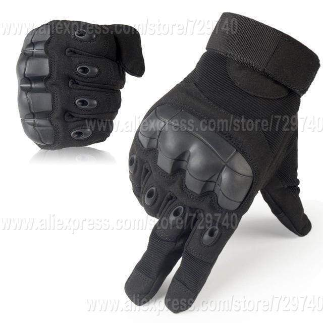 Touch Screen Tactical Gloves Military Armed Army Paintball Shooting Airsoft Combat Anti-Skid Rubber Knuckle Full Finger Gloves AExp