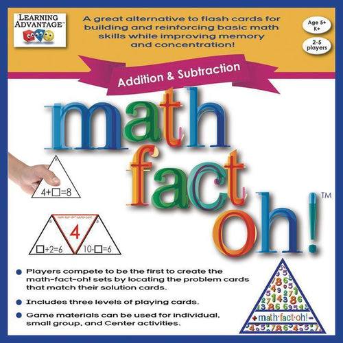 Toys & Games MATH FACT OH ADDITION & SUBTRACTION Default Title JadeMoghul