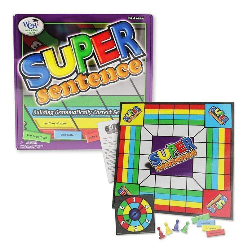 Toys & Games Super Sentence LEARNING ADVANTAGE