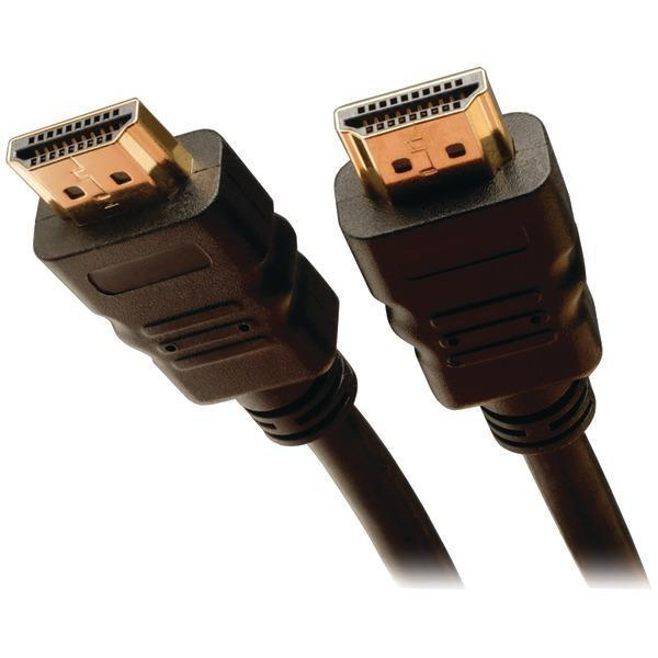 Ultra HD High-Speed HDMI(R) Cable, Digital Video with Audio (10ft)-Cables, Connectors & Accessories-JadeMoghul Inc.