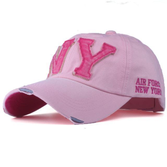 Unisex Fashionable Baseball Cap-Pink-Adjustable-JadeMoghul Inc.