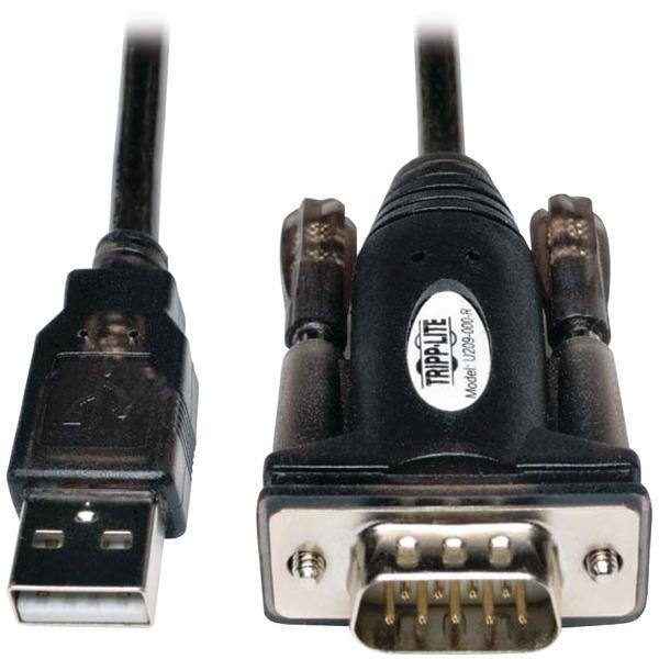 USB A-Male to D9-Male Serial Adapter Cable, 5ft-USB Peripherals & Accessories-JadeMoghul Inc.