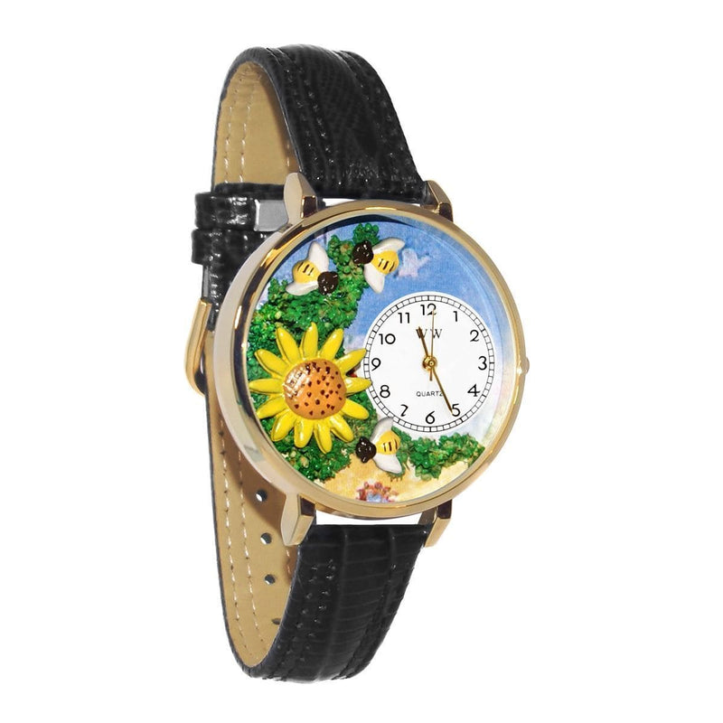 Watch Sunflower Watch in Gold (Large) WW