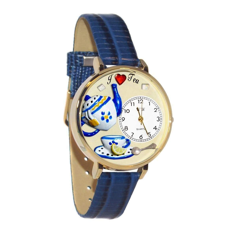Watch Tea Lover Watch in Gold (Large) WW