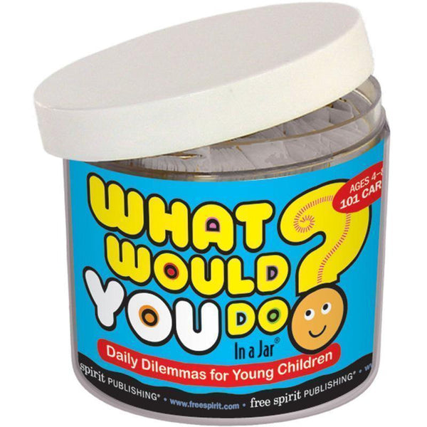 WHAT WOULD YOU DO IN A JAR-Learning Materials-JadeMoghul Inc.