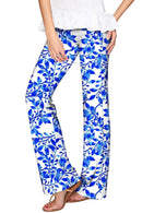 Whimsy Amelia Blue & White Print Palazzo Pant - Women-Whimsy-XS-White/Blue-JadeMoghul Inc.