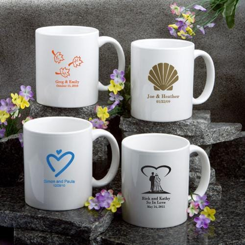 White Ceramic Coffee Mug-Personalized Gifts for Men-JadeMoghul Inc.