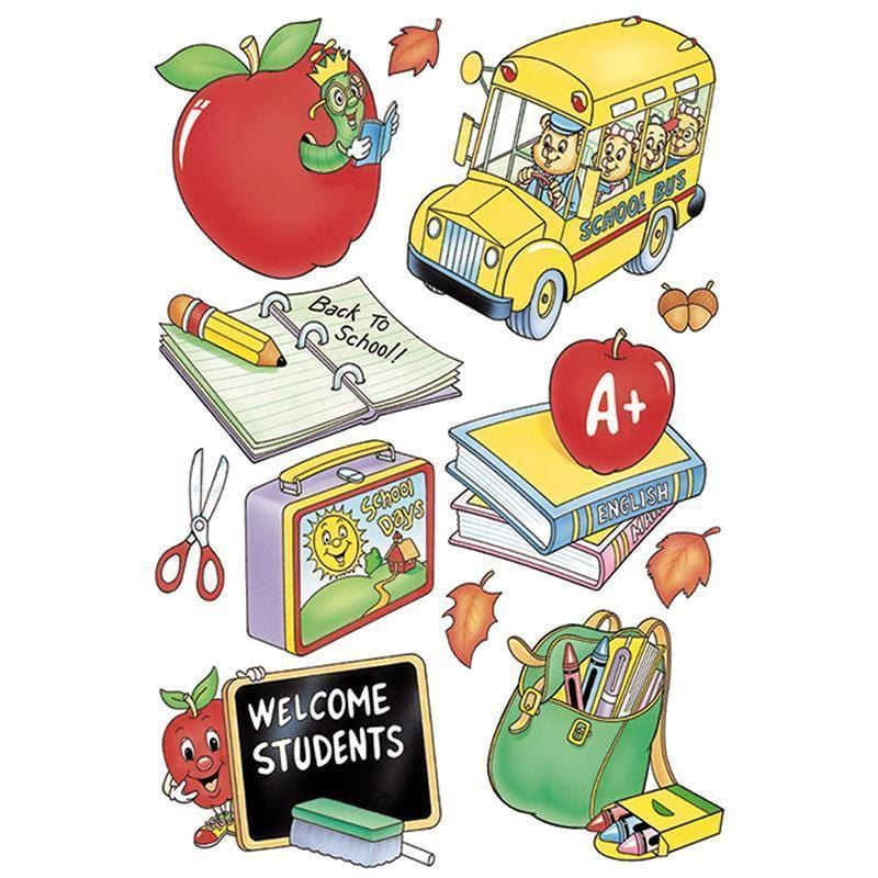 WINDOW CLING WELCOME STUDENTS 12X17-Learning Materials-JadeMoghul Inc.
