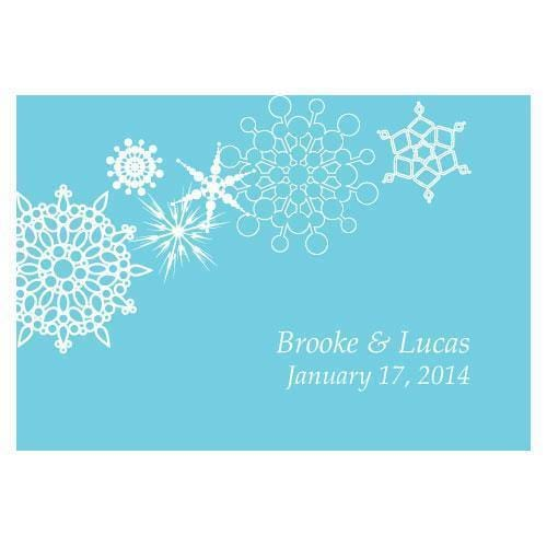 Winter Finery Large Rectangular Tag Berry (Pack of 1)-Wedding Favor Stationery-Berry-JadeMoghul Inc.