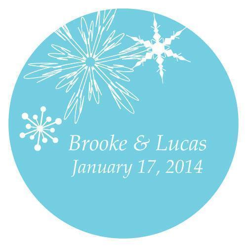 Winter Finery Large Sticker Berry (Pack of 1)-Wedding Favor Stationery-Berry-JadeMoghul Inc.