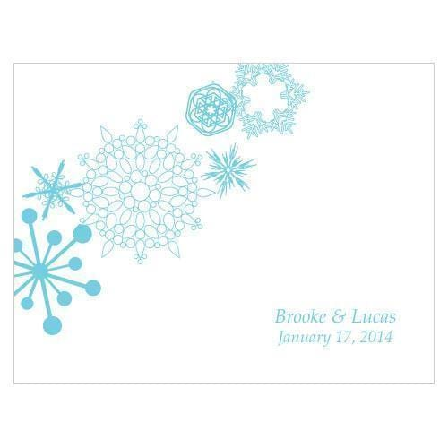 Winter Finery Note Card Berry (Pack of 1)-Table Planning Accessories-Berry-JadeMoghul Inc.