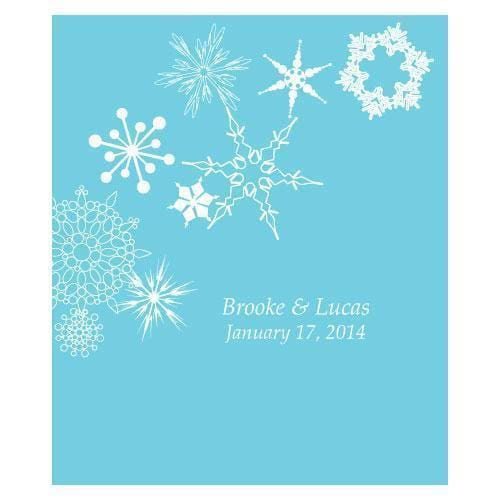 Winter Finery Rectangular Label Berry (Pack of 1)-Wedding Favor Stationery-Berry-JadeMoghul Inc.