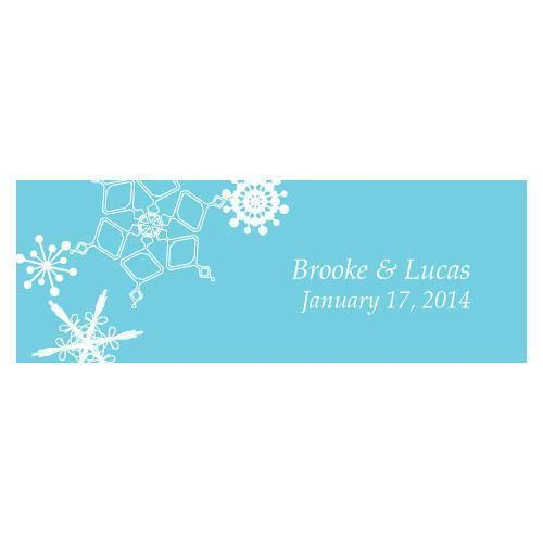 Winter Finery Small Rectangular Tag Berry (Pack of 1)-Wedding Favor Stationery-Berry-JadeMoghul Inc.