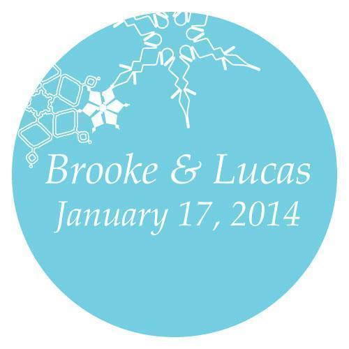 Winter Finery Small Sticker Berry (Pack of 1)-Wedding Favor Stationery-Berry-JadeMoghul Inc.