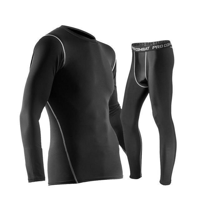 Winter Thermal Underwear Set For Men-As picture show-S-JadeMoghul Inc.