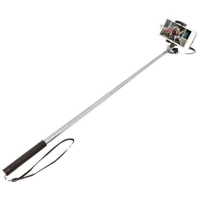 Wired Selfie Stick-Cellphone Mounts-JadeMoghul Inc.