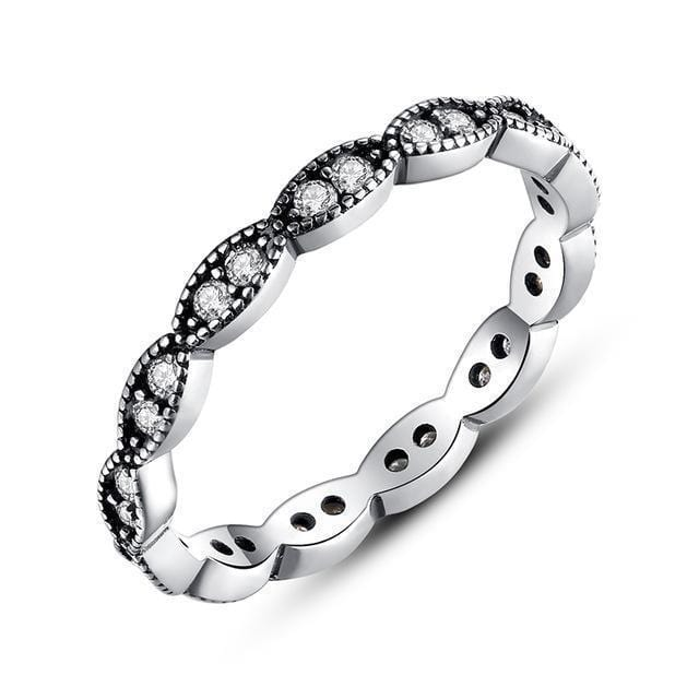 Women 100% Authentic 925 Sterling Silver Stackable Party Rings-6-7120-JadeMoghul Inc.