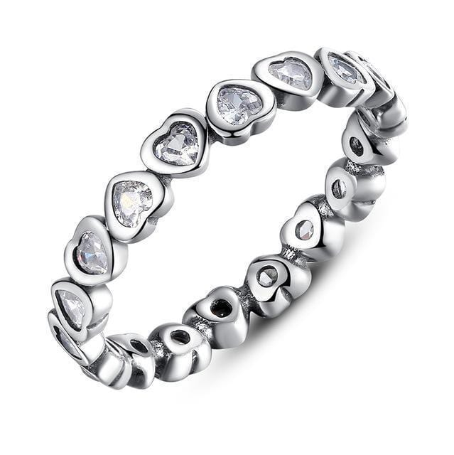 Women 100% Authentic 925 Sterling Silver Stackable Party Rings-6-7124-JadeMoghul Inc.
