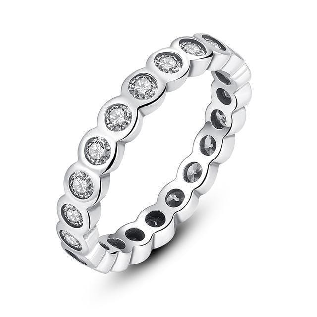 Women 100% Authentic 925 Sterling Silver Stackable Party Rings-6-7131-JadeMoghul Inc.