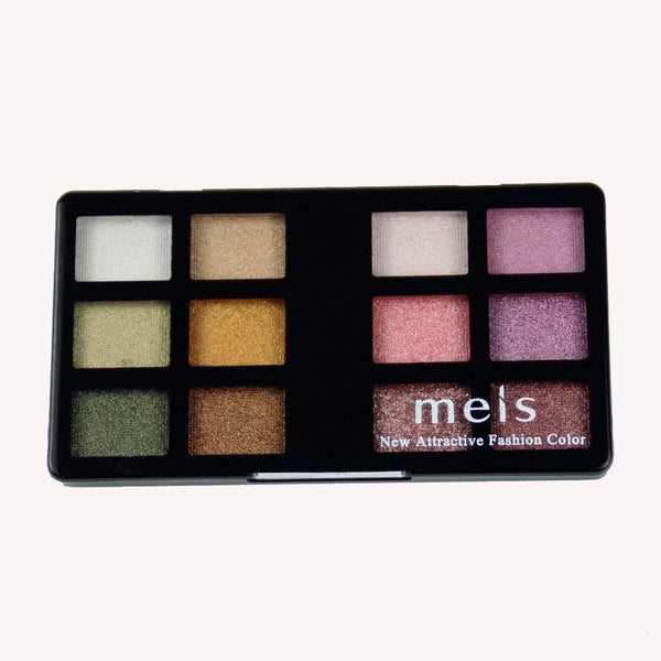 Women 12 Colors Shimmer Metallic Eye Shadow Palette Collection-1-JadeMoghul Inc.