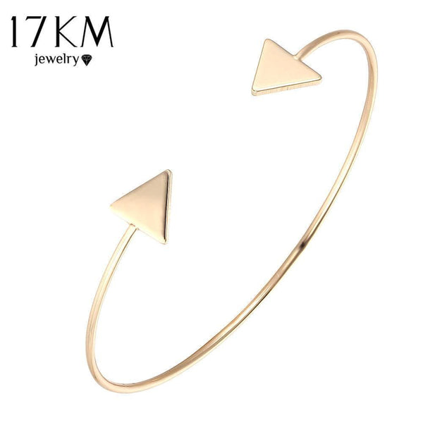 Women Adjustable Arrow Cuff Bracelet-BJCS23621-JadeMoghul Inc.
