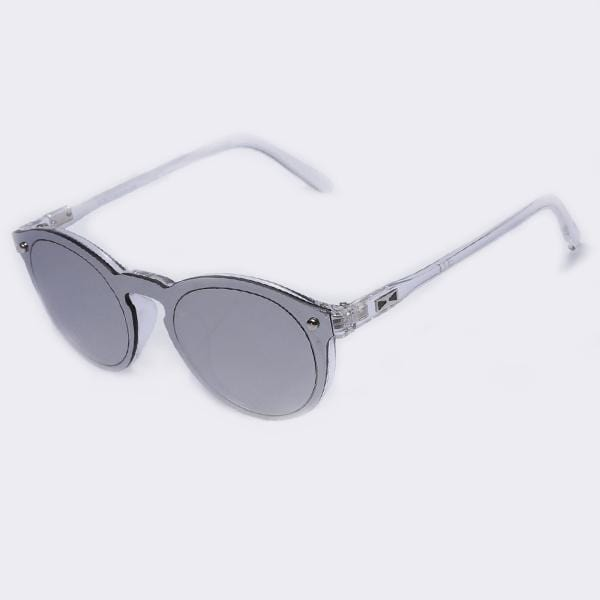Women All Acrylic/ Plastic Frame Round Sunglasses With 100% UV Protection-C06Silver-China-JadeMoghul Inc.