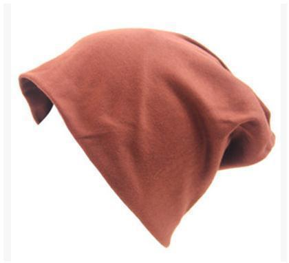 Women Basic Wool Blend Slouch Beanie/ Hat In Solid Colors-M028 Cinnamon-JadeMoghul Inc.
