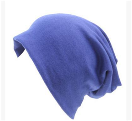 Women Basic Wool Blend Slouch Beanie/ Hat In Solid Colors-M028 Royal blue-JadeMoghul Inc.