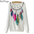 Women Colorful Printed Warm Sweatshirt-FZ0130-One Size-China-JadeMoghul Inc.
